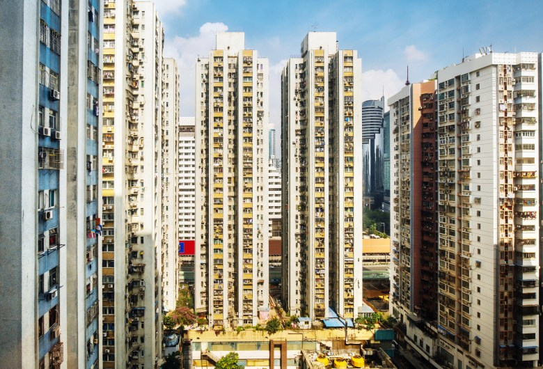 Apartment buildings in Shenzhen, China. Photo: iStock