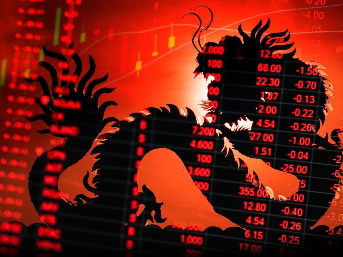 Chinese stock market. Photo: iStock