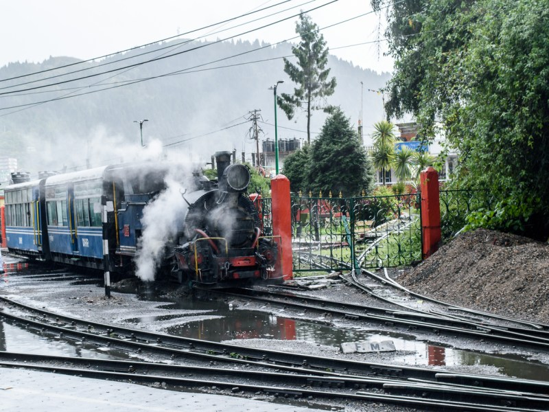 The Darjeeling Himalayan Railway, also known as the Toy Train, is a narrow gauge railway that runs between New Jalpaiguri and Darjeeling in the state of West Bengal. Photo: iStock