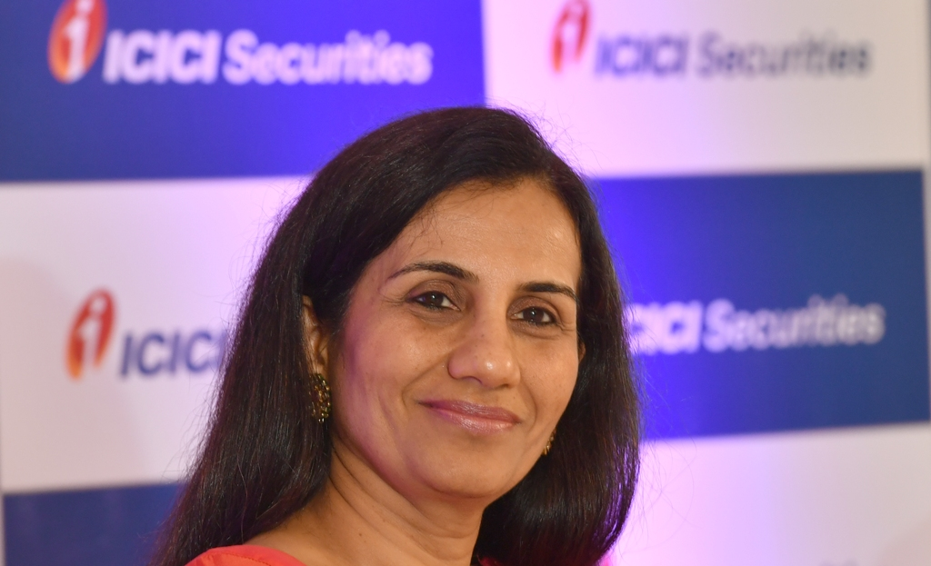 ICICI Bank CEO Chanda Kochhar. Photo: AFP