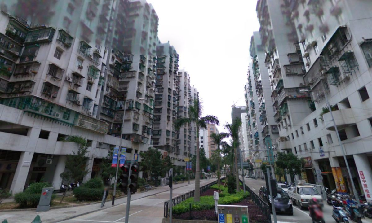 Avenida do Nordeste in Macau. Photo: Google Maps