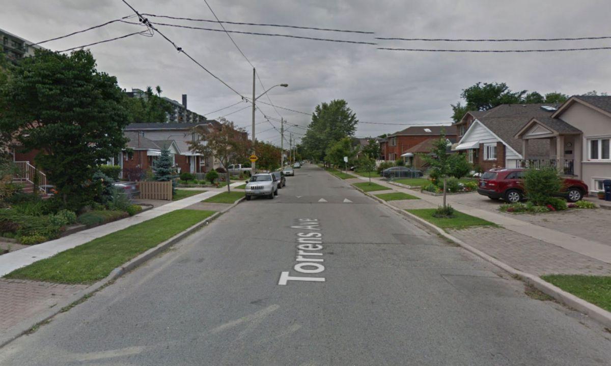 Torrens Avenue in Toronto, Canada. Photo: Google Maps