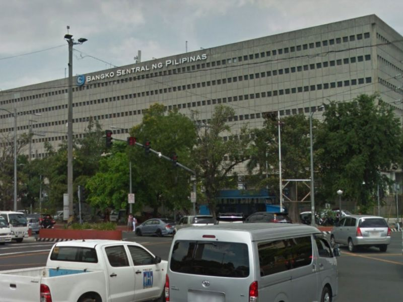 The Bangko Sentral ng Pilipinas in Manila. Photo: Google Maps