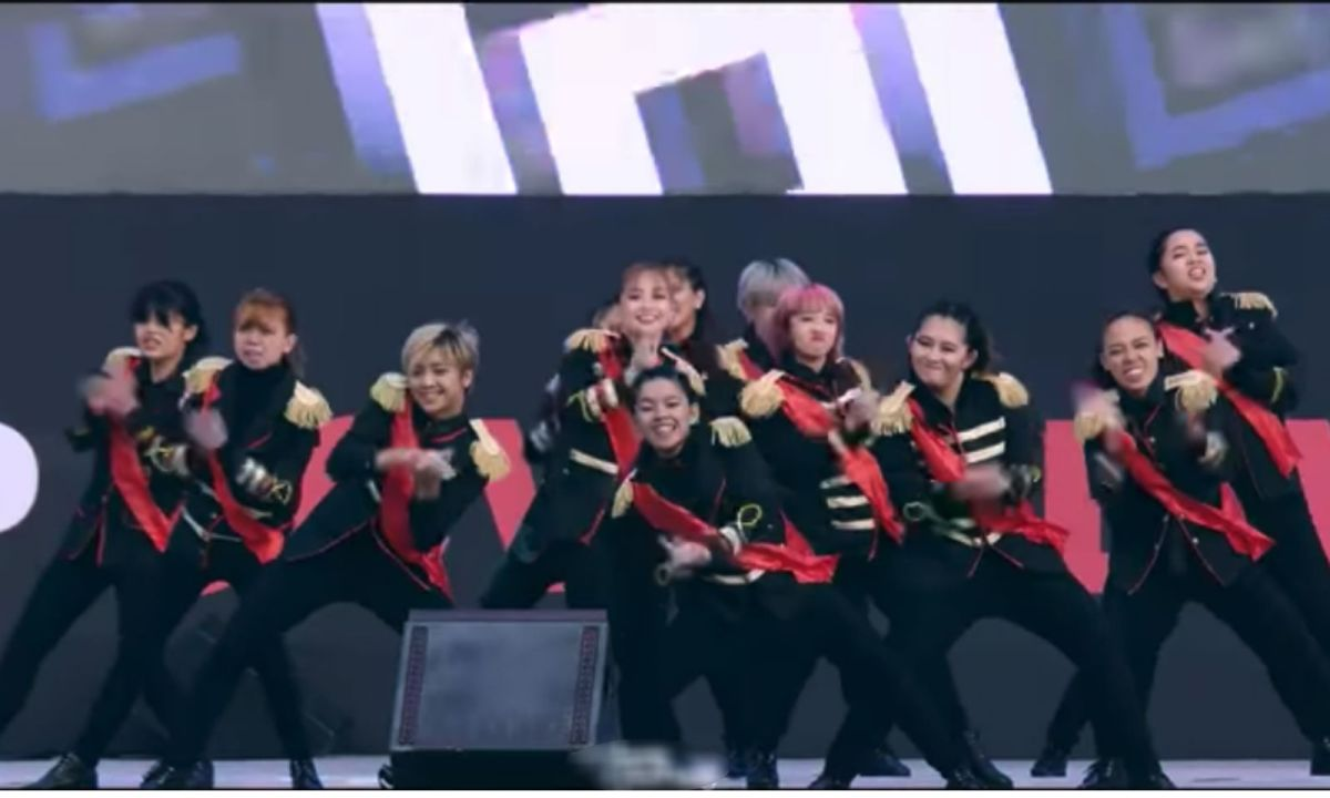 All-female Filipino dance group Daisy Siete represented the Philippines at the 2018 K-Pop Cover Dance Festival and won the grand prize. Photo: YouTube