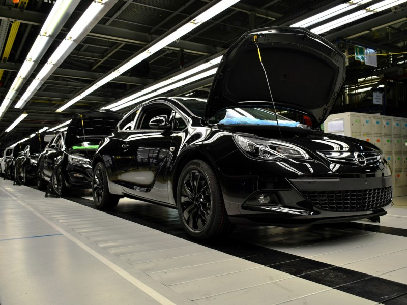 A car production line in a General Motors factory. GM Korea has consolidated its finances. File photo: iStock