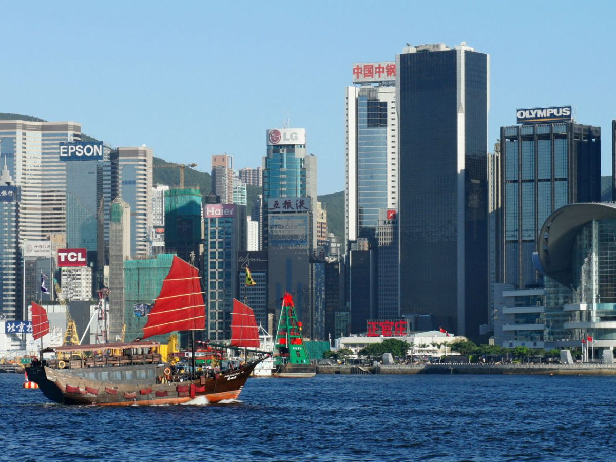 Victoria Harbour, Hong Kong. Photo: Wikimedia Commons