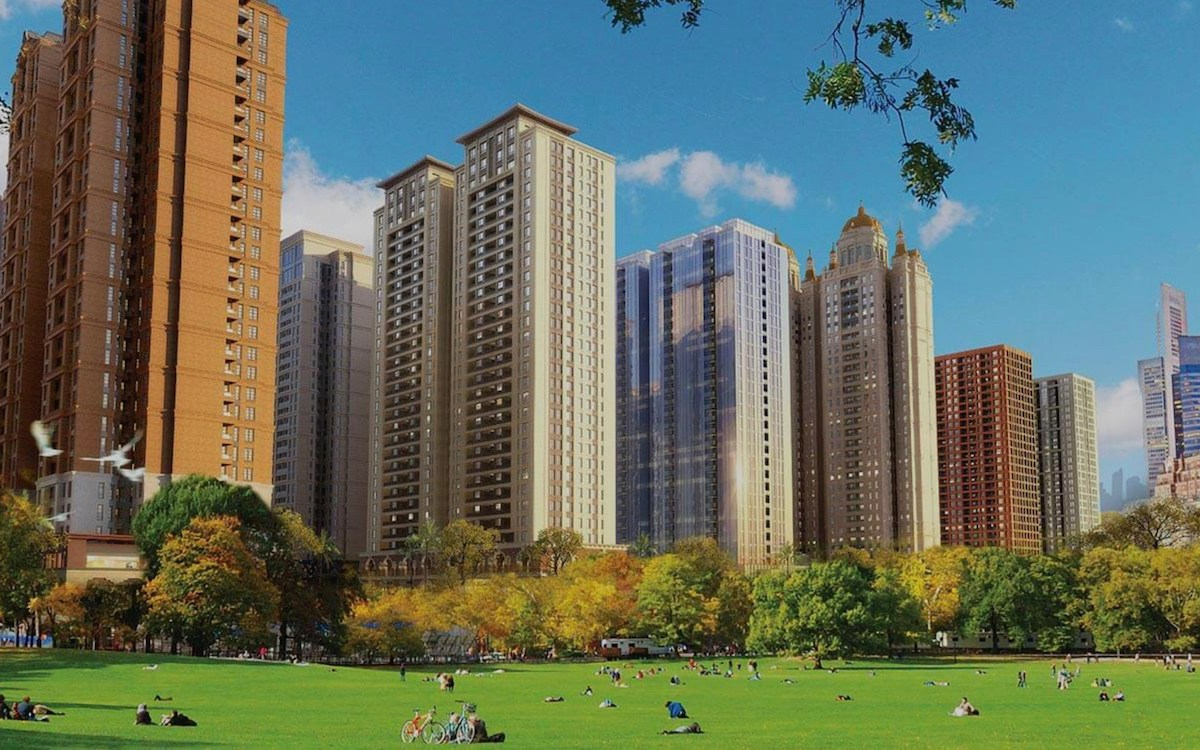 Corporate rendering of the still-under-construction Meikarta property project in Jakarta. Image: Company Handout
