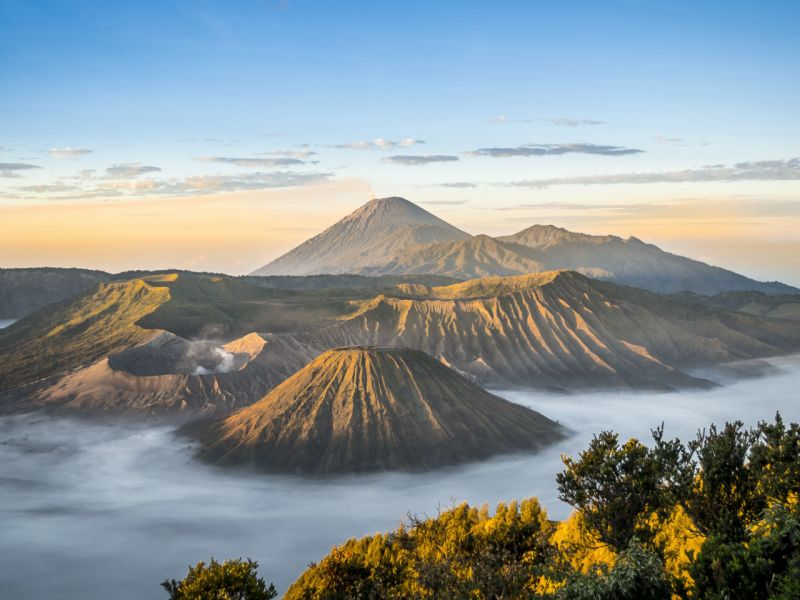 Mount Bromo in Java, Indonesia. Photo: iStock
