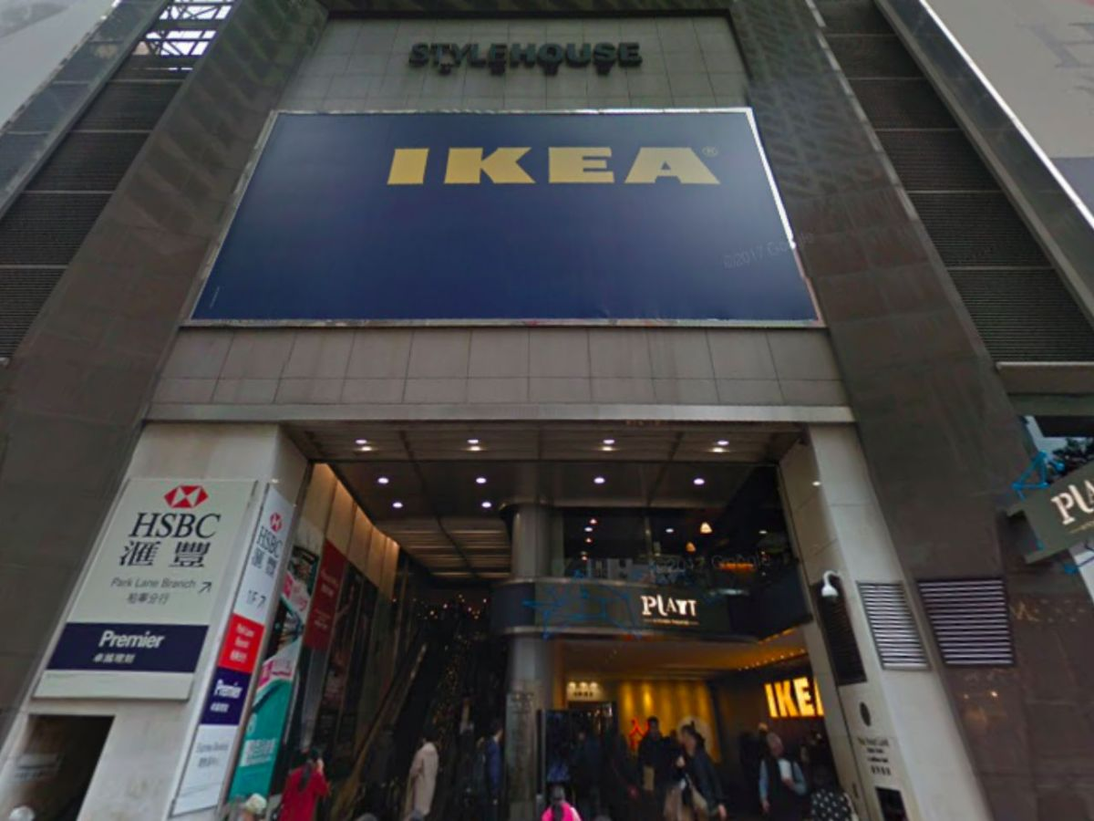 The Ikea store in Causeway Bay on Hong Kong Island. Photo: Google Maps