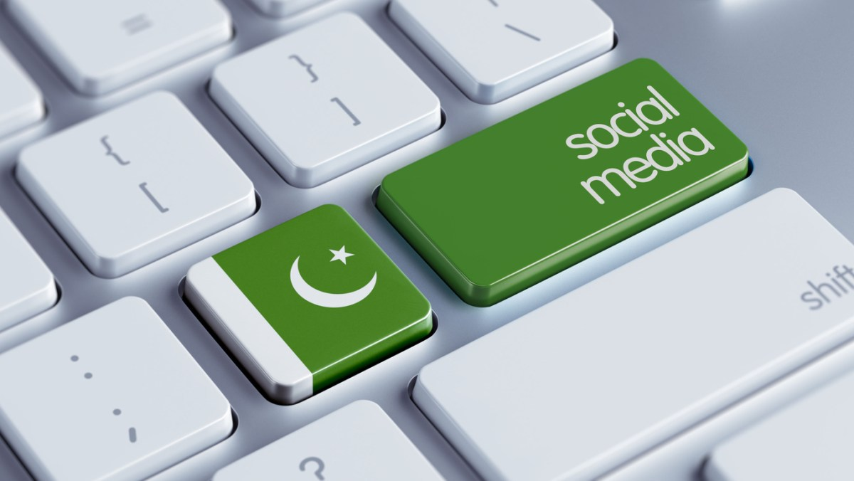 Pakistan High Resolution Social Media Concept Image: iStock
