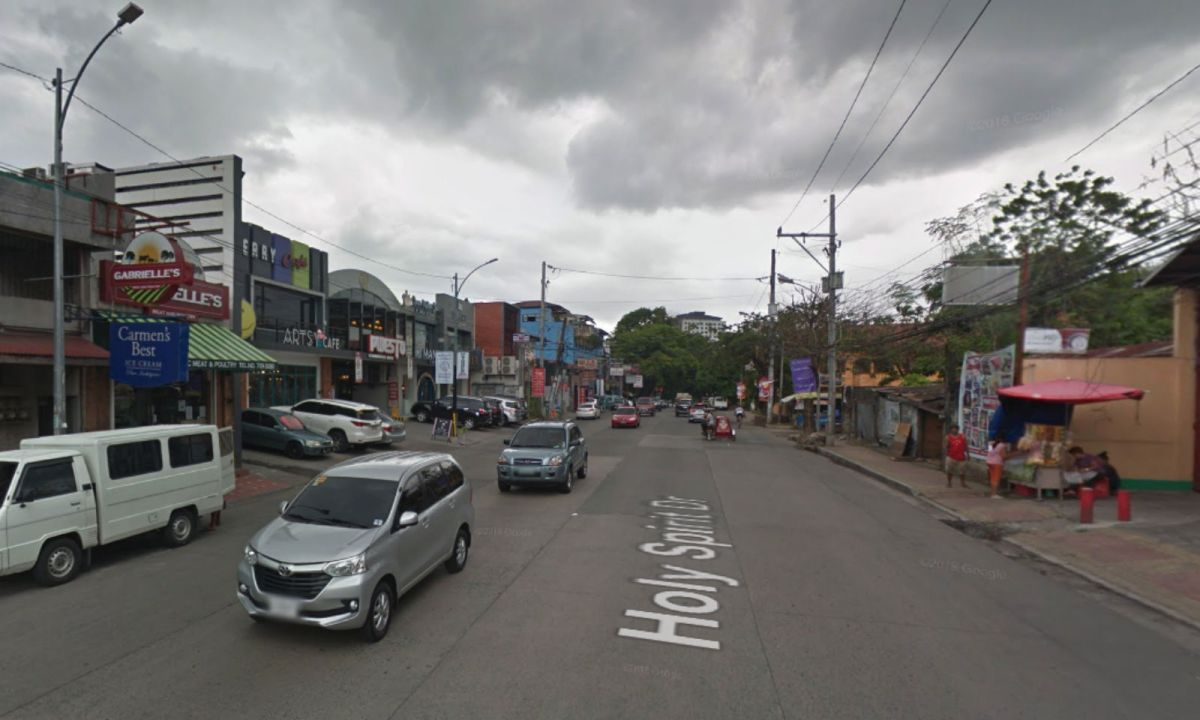 Barangay Holy Spirit in Quezon City, Philippines. Photo: Google Maps