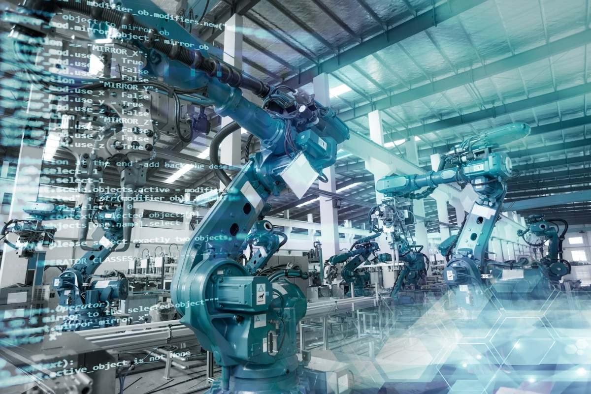 The factory robots are on the march. Photo: iStock