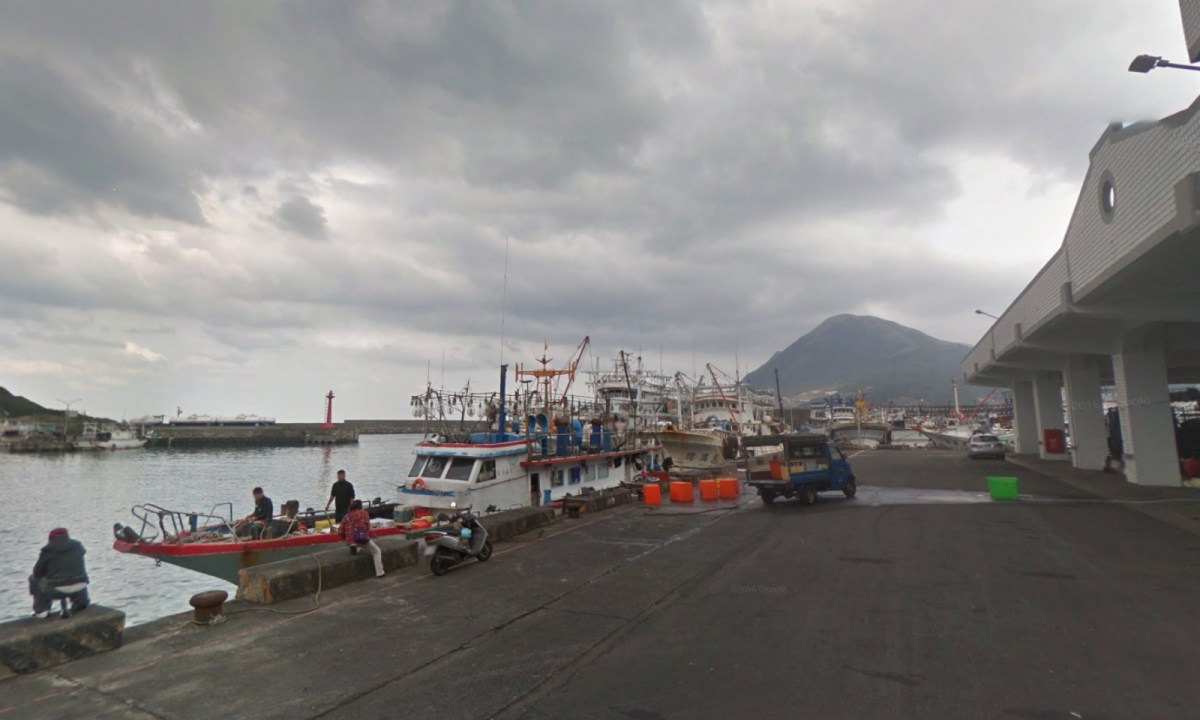Shen'ao Fishing Port in Ruifang District, New Taipei, Taiwan. Photo: Google Maps