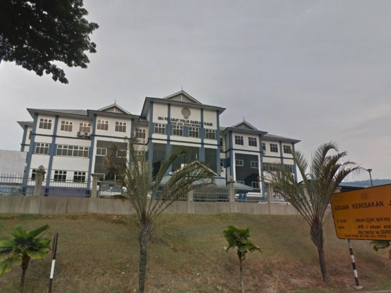 The headquarters of the Raub District Police in Pahang, Malaysia. Photo: Google Maps