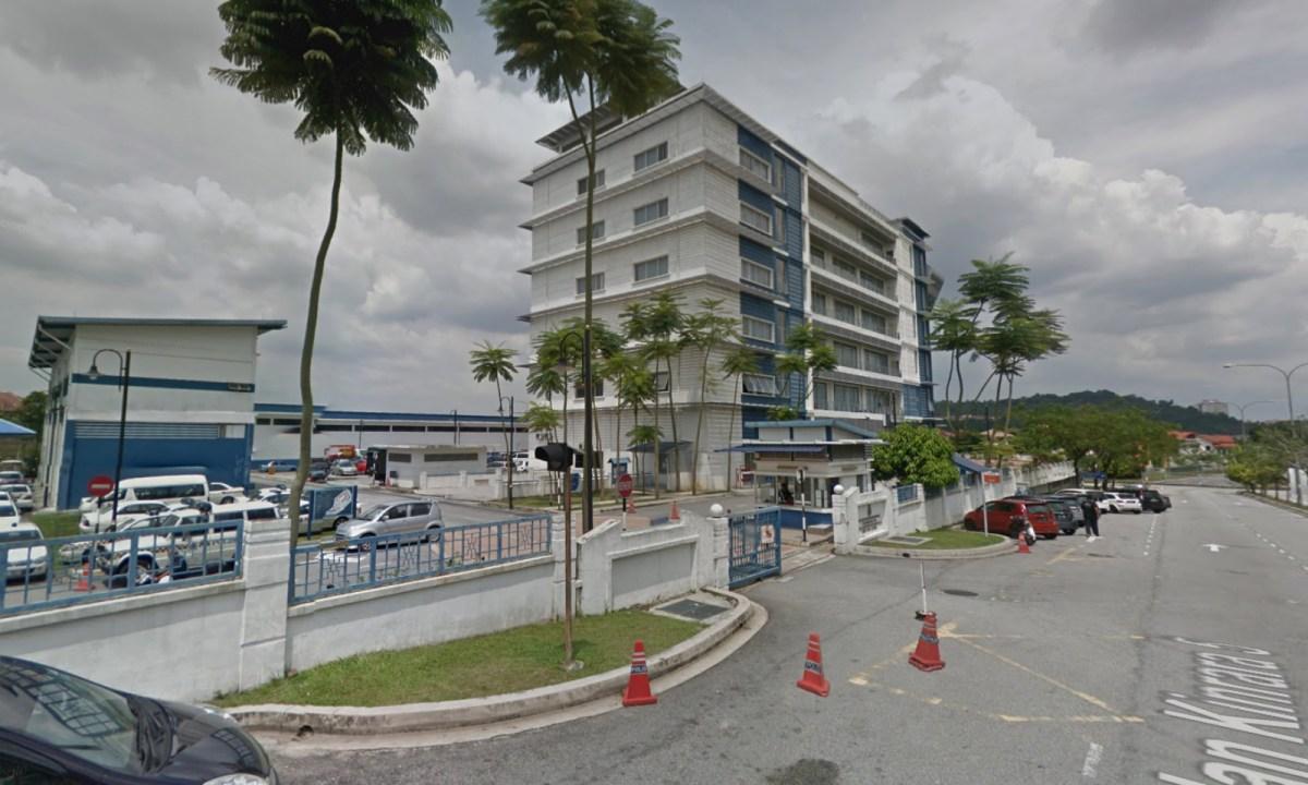 Serdang Police Headquarters in Bandar Kinrara, Puchong, Selangor, Malaysia. Photo: Google Maps