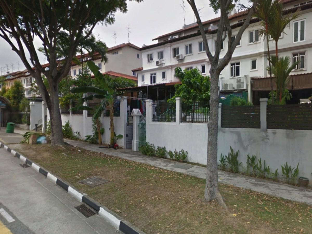 The neighborhood of Loyang Villas, Singapore. Photo: Google Maps