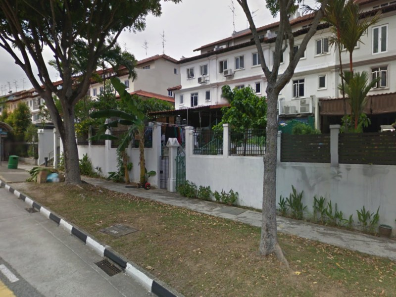 The neighborhood of Loyang Villas, Singapore. Photo: Google Maps