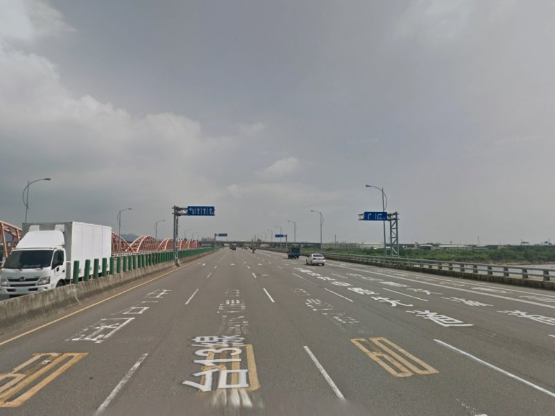 The section where the alleged incident occurred, Taichung City, Taiwan. Photo: Google Maps