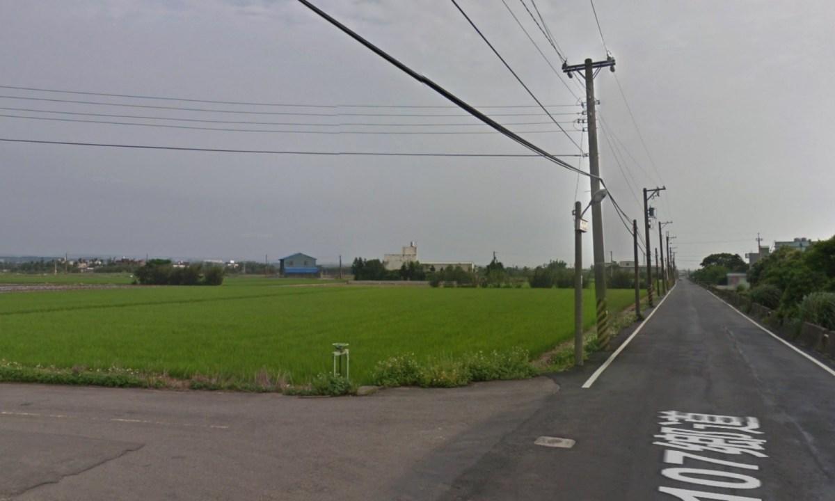 Farmland in Xinwu district of Taoyuan,Taiwan, near where marijuana was allegedly grown. Photo: Google Maps