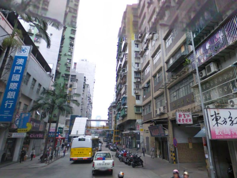 Toi San area, Macau Photo: Google Maps