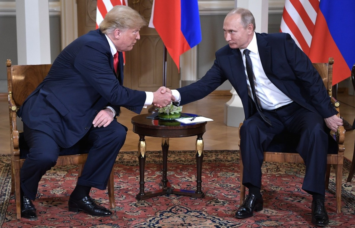 Donald Trump's friendliness with Russia's President Vladimir Putin has mystified Western observers. Photo: Wikimedia Commons.