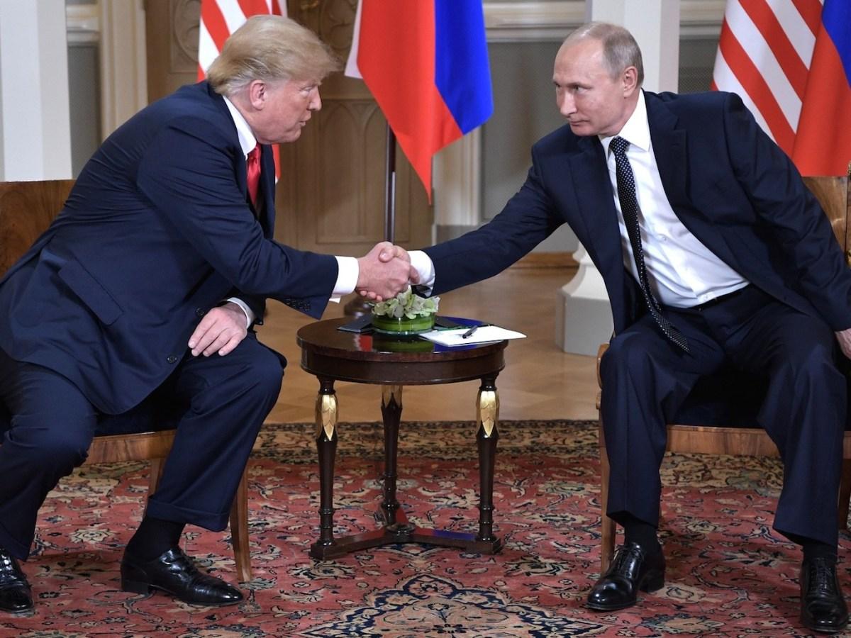 Donald Trump's friendliness with Russia's President Vladimir Putin has mystified Western observers. Photo: Wikimedia Commons.