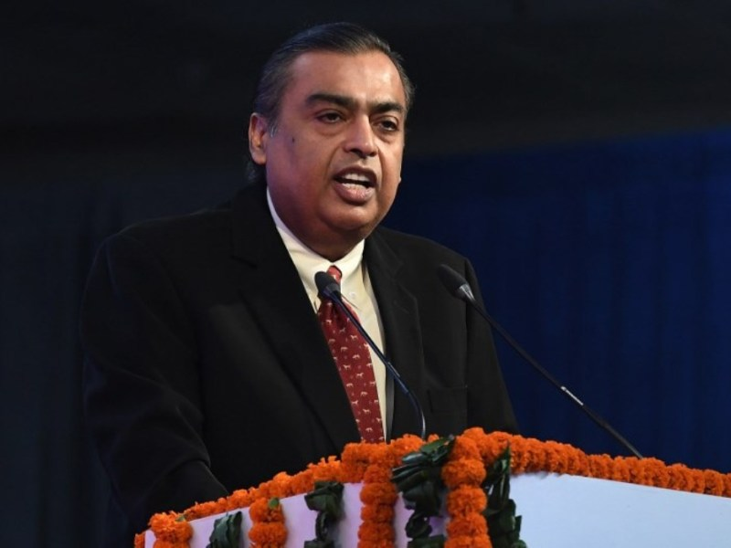 Mukesh Ambani, chairman of Reliance Industries Ltd. Photo: AFP