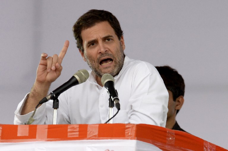 Indian Congress party president Rahul Gandhi has successfully dispelled claims that he was ineffectual or entitled. Photo: AFP