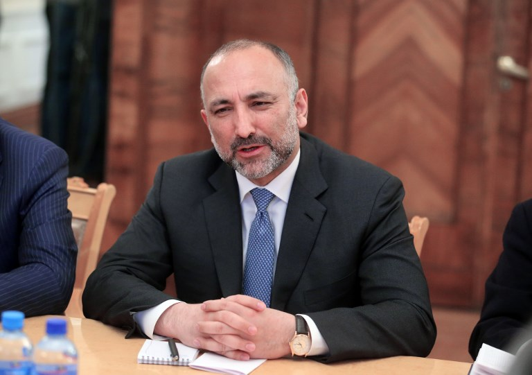 The Afghan President's national security adviser Hanif Atmar resigned this week and is likely to make a stand in the upcoming presidential election. Photo: AFP/ Vitaliy Belousov/ Sputnik
