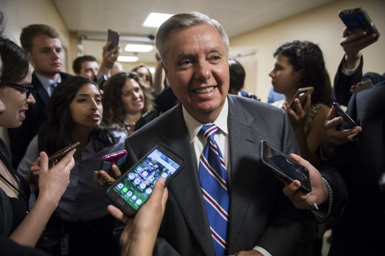 US Senator Lindsay Graham. Photo: AFP