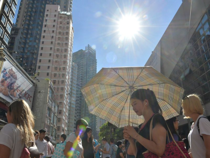 Wan Chai on Hong Kong Island. Photo: HK Government