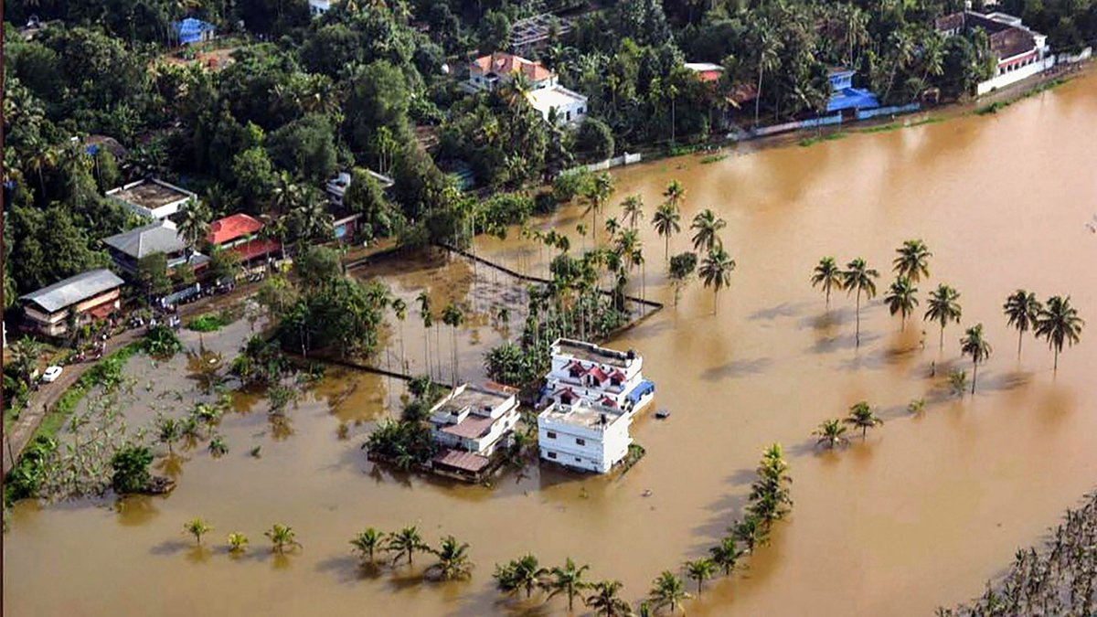 Kerala suffered a similar devastating flood nearly a century ago. But recently it has been hit hard by drought. Photo: Rejimon Kuttappan