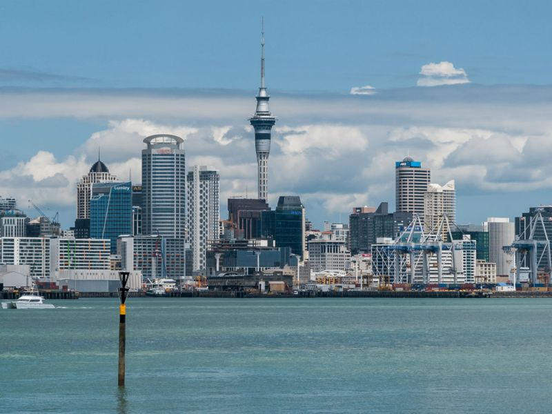 Auckland, New Zealand. Photo: Wikimedia Commons, Daniel Vorndran / DXR