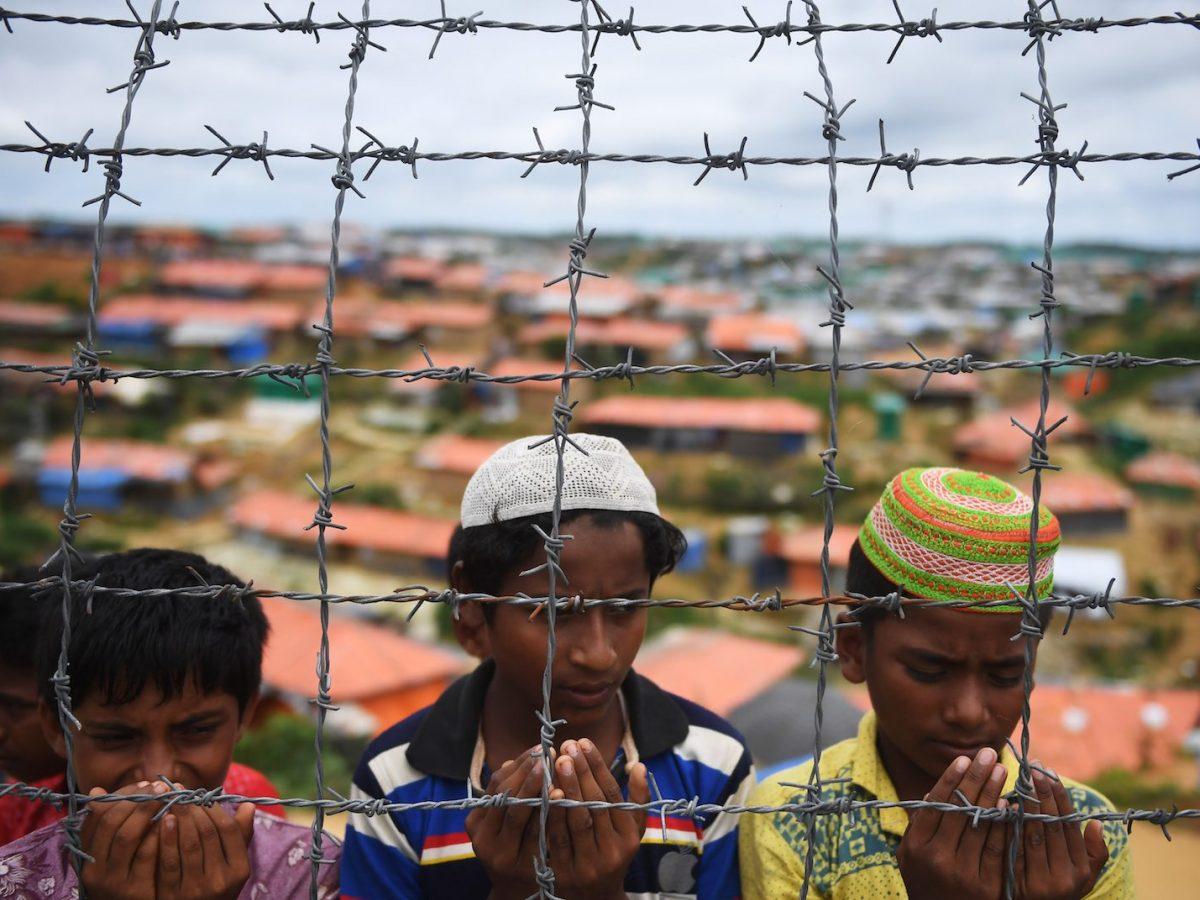 Rohingya at the Kutupalong refugee camp in Bangladesh. Photo: AFP