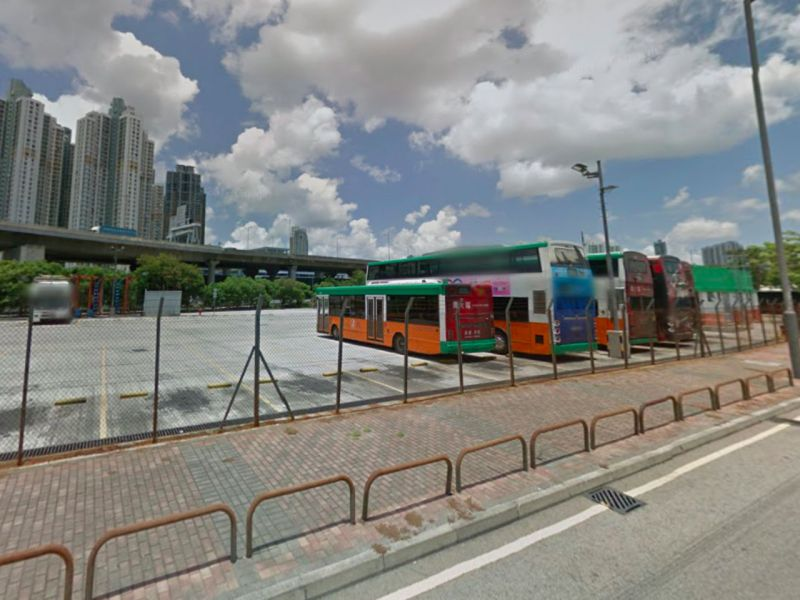 Cheung Sha Wan bus depot, Kowloon Photo: Google Maps
