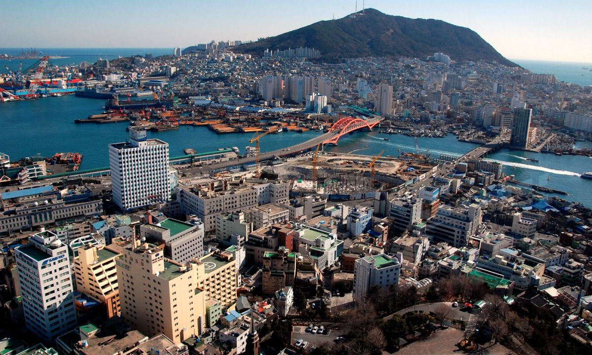 Busan in South Korea. Photo: Wikimedia Commons