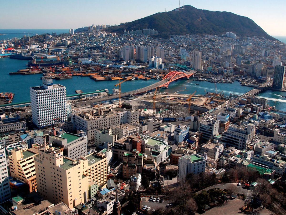 Busan in South Korea. Photo: Wikimedia Commons