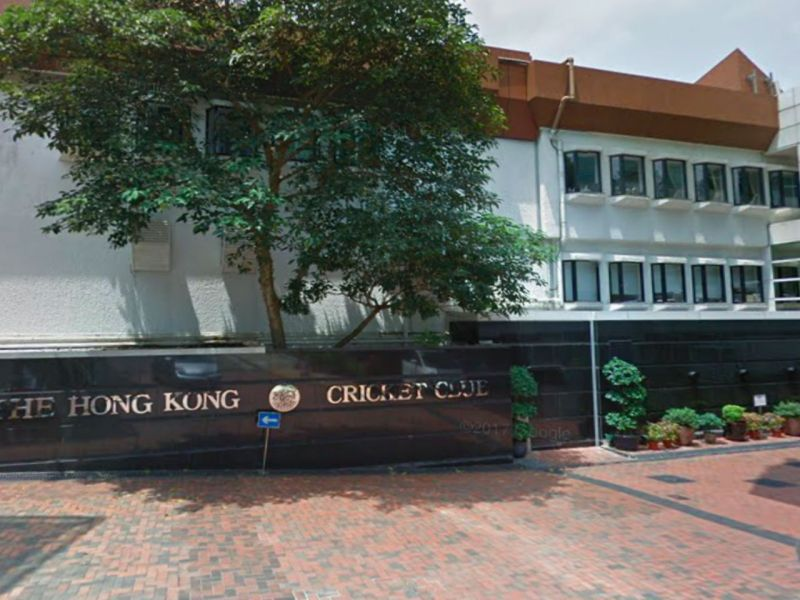 Hong Kong Cricket Club in Tai Tam, Hong Kong Island. Photo: Google Maps
