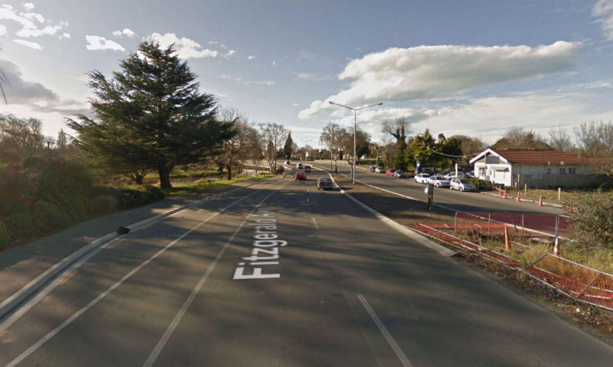 Christchurch in New Zealand. Photo: Google Maps