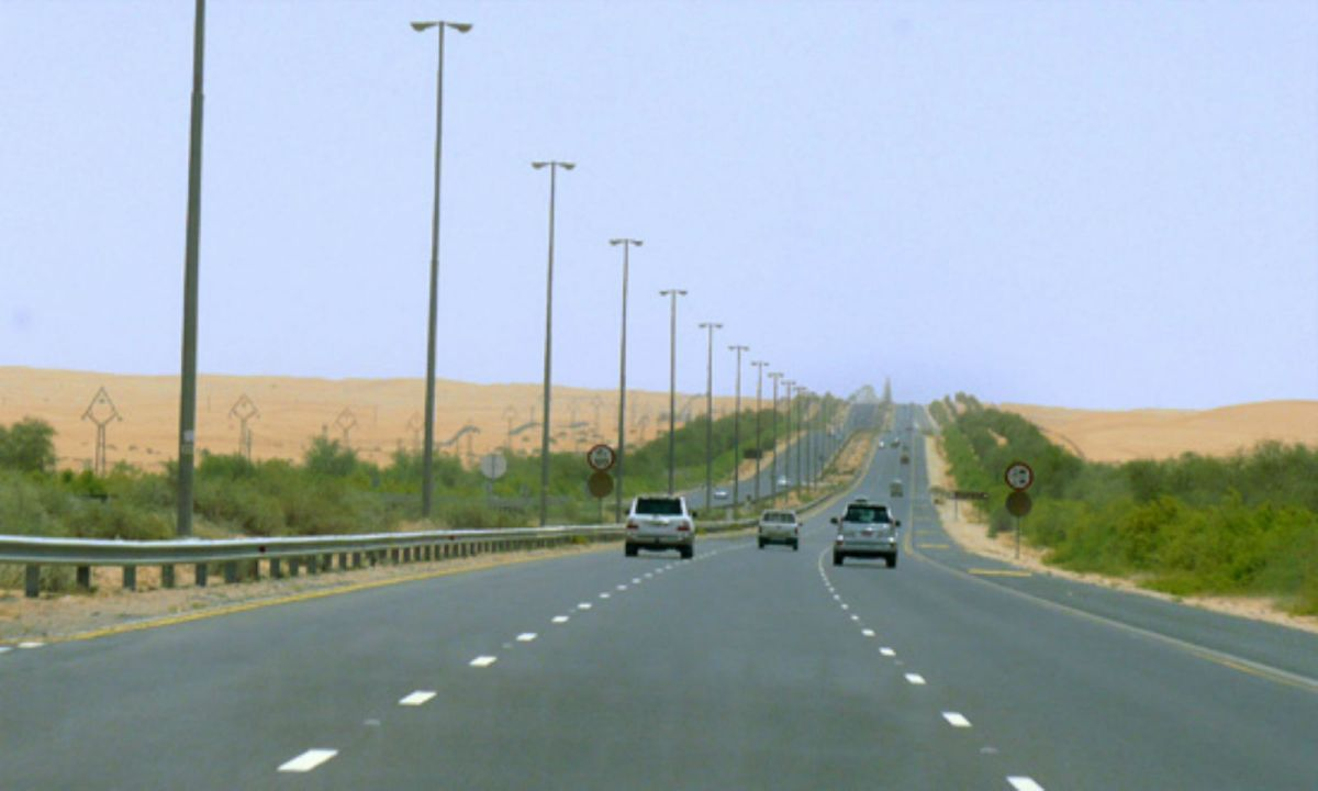 Dubai-Al Ain Road in Al Ain, Abu Dhabi. Photo: Wikimedia Commons