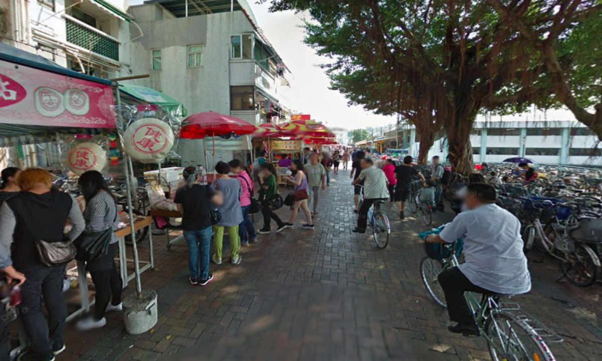 Cheung Chau island, Hong Kong. Photo: Google Maps