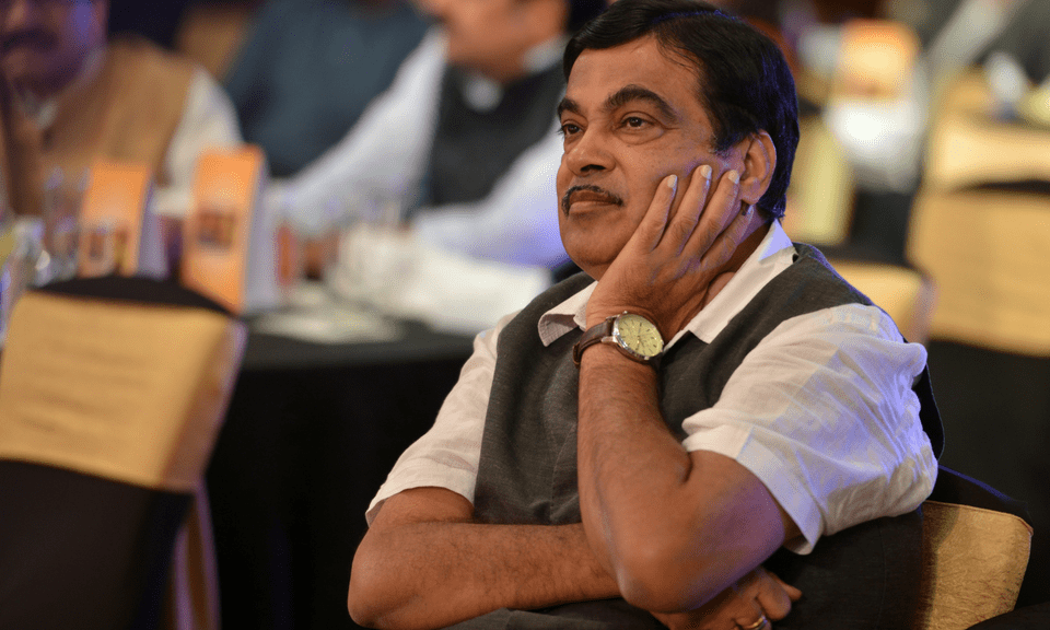 Indian Minister for Road Transport & Highways, Shipping and Water Resources, River Development & Ganga Rejuvenation Nitin Gadkari. Photo: Milind Shelte/India Today Group