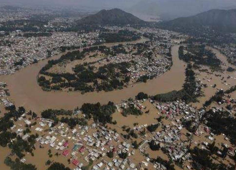 印度最南端的州分遇上100年以來最嚴重的洪災。相片:Rejimon Kuttappan