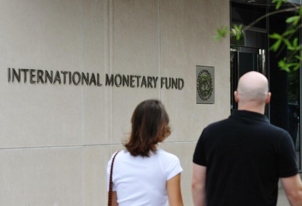 The headquarters of the International Monetary Fund in Washington, US: AFP