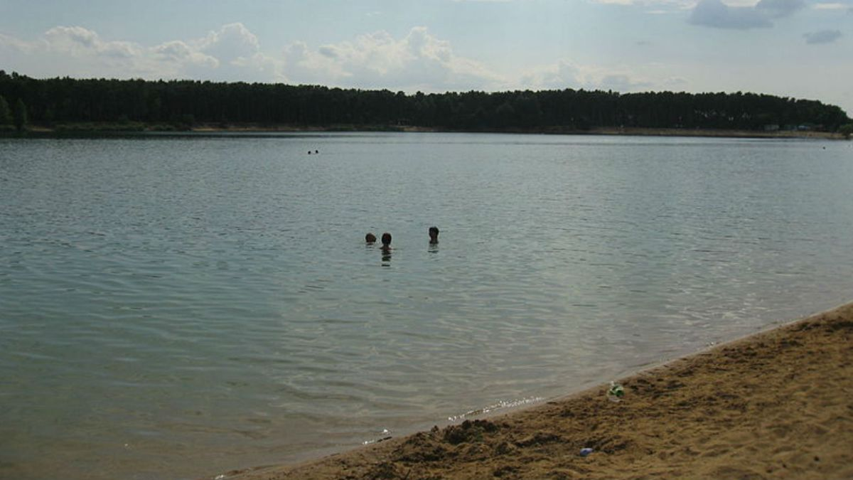 Lake Lhota in the Czech Republic, where the two boys drowned in August. Photo: Wikimedia Commons