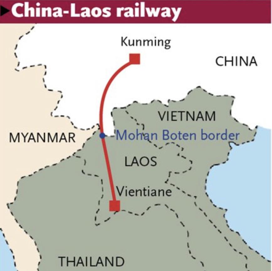Laos-Laos China Railway-Graphic-Twitter