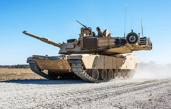 M1A2 Abrams main battle tank Photo: Handout