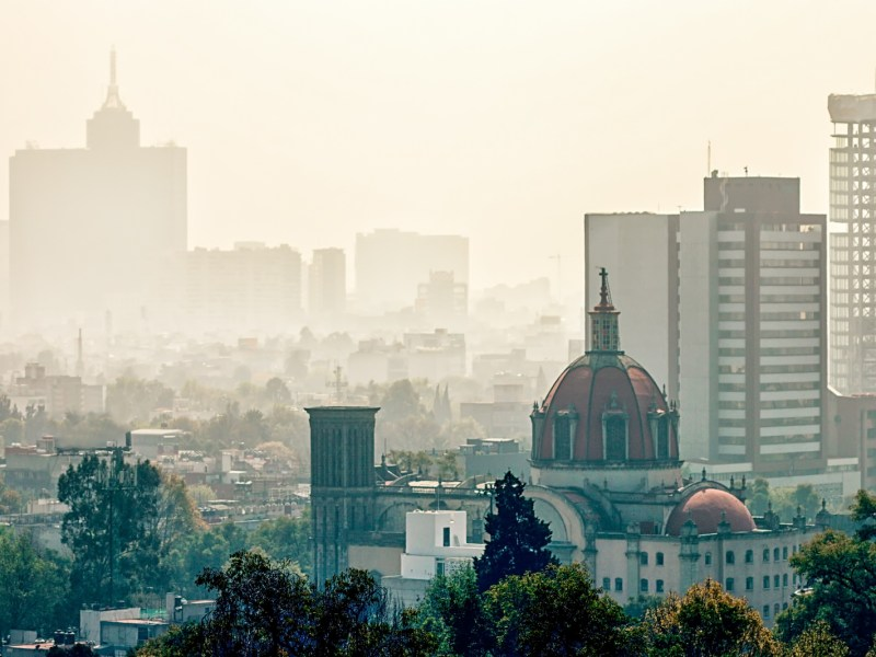 Mexico City's smog-covered skyline in a file photo. Photo: iStock