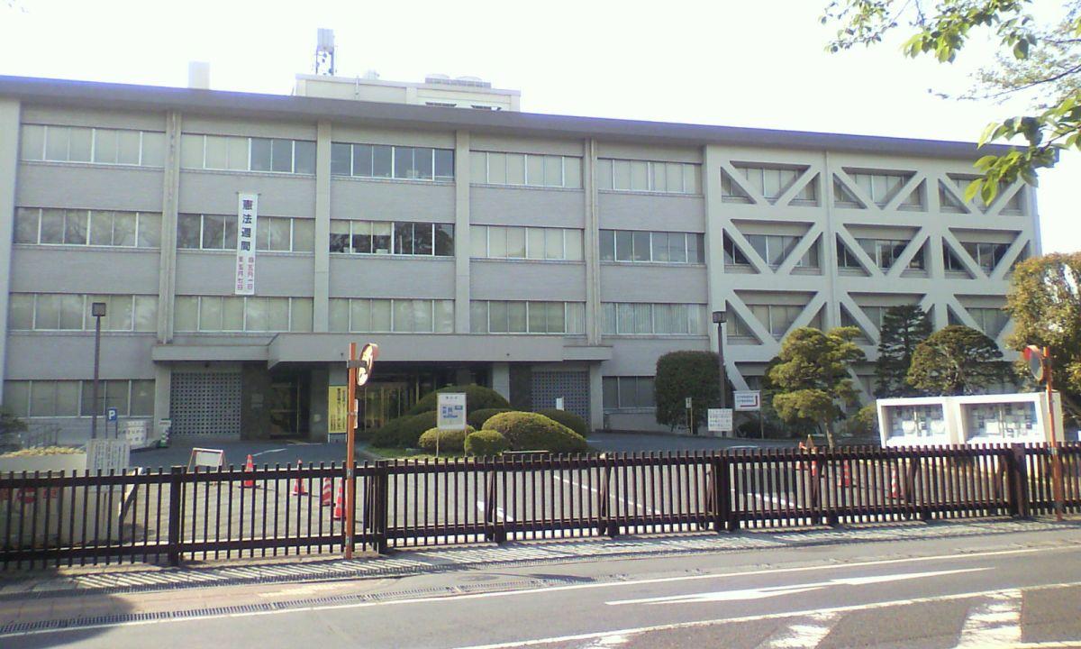 Mito District Court in Ibaraki Prefecture, Japan. Photo: Wikimedia Commons, Miyuki Meinaka