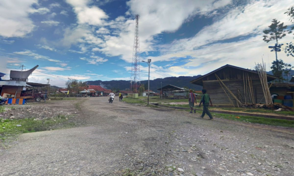 Oksibil in Papua, Indonesia. Photo: Google Maps